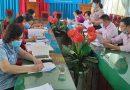 Hội LHPN tỉnh kiểm tra vốn ủy thác từ NHCSXH đối với Hội LHPN huyện và xã Thuận Hòa